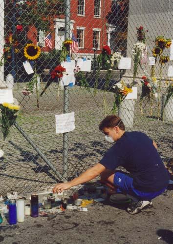 Memorial at Washington Square Park
