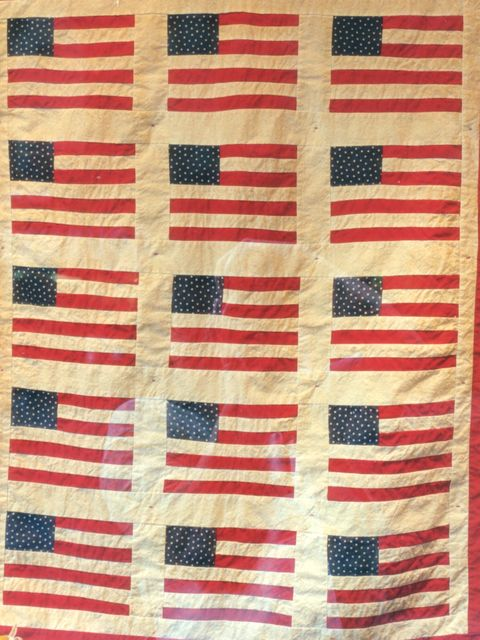 NYC Flag Quilt