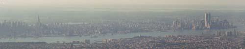 Manhattan From Plane Summer 2001
